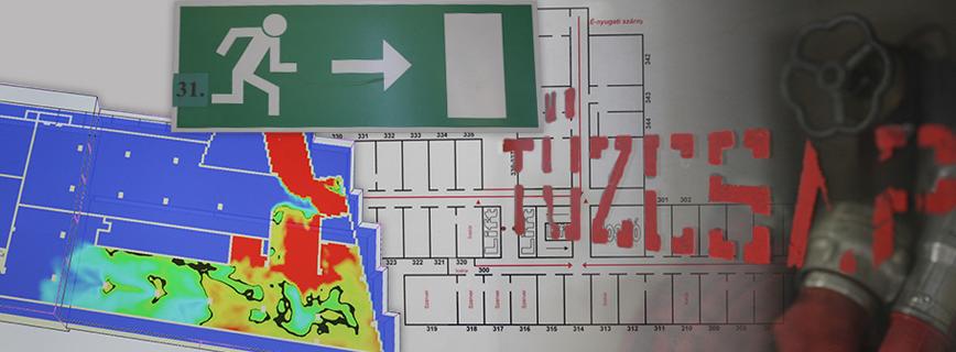Építészeti tűzvédelmi tájékoztatók aloldal fejlécképe