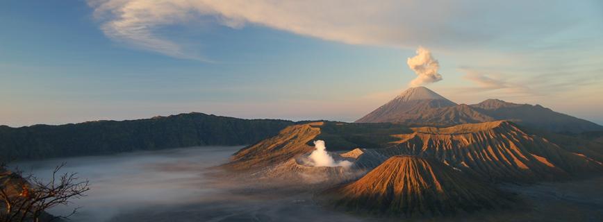 Katasztrófatípusok - Vulkánkitörés aloldal fejlécképe
