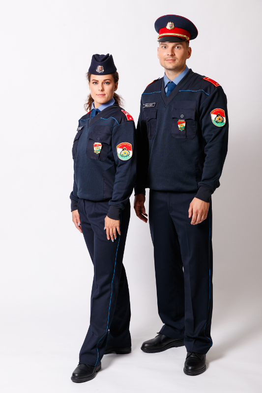 A 12M egységes rendészeti szolgálati ruházat