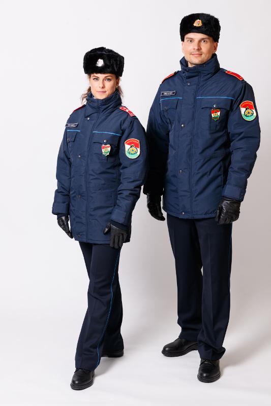 A 12M egységes rendészeti szolgálati ruházat téli viselete