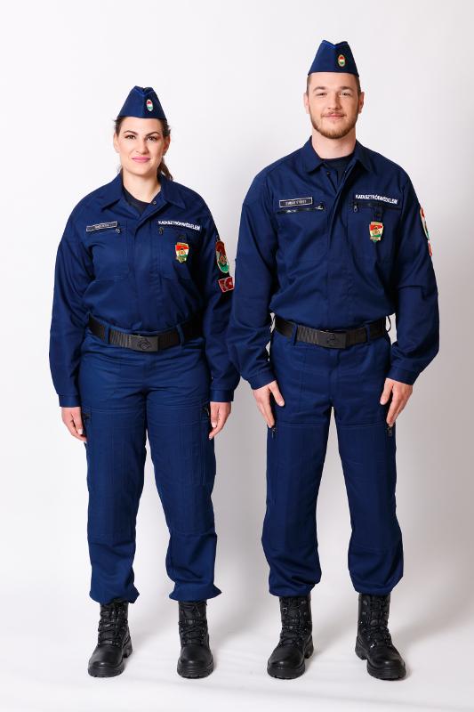 A 10M egységes rendészeti gyakorlóruházat