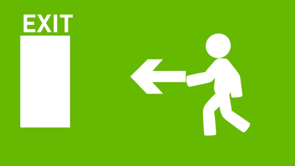 Kijárat balra című videó előképe