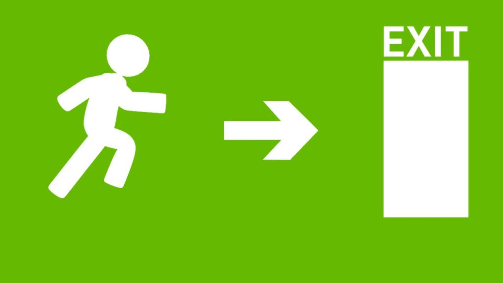 Kijárat jobbra című videó előképe
