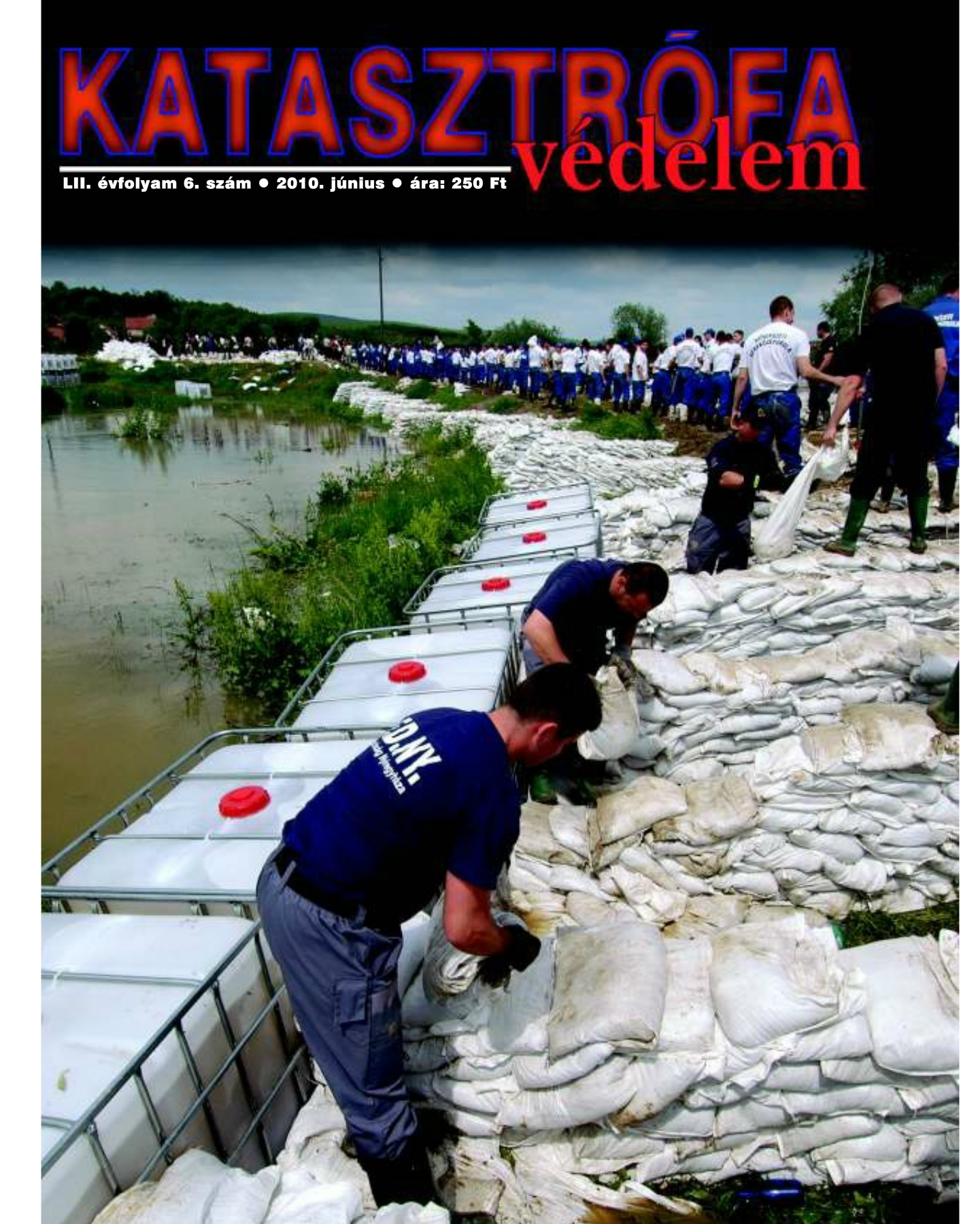 A Katasztrófavédelem magazin LII. évfolyam 6. szám megtekintése