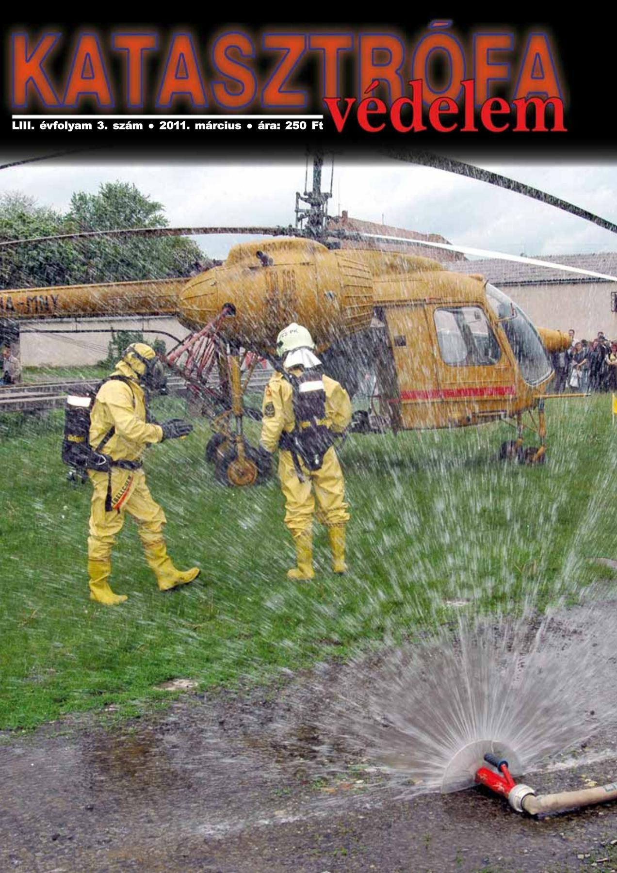 A Katasztrófavédelem magazin LIII. évfolyam 3. szám megtekintése
