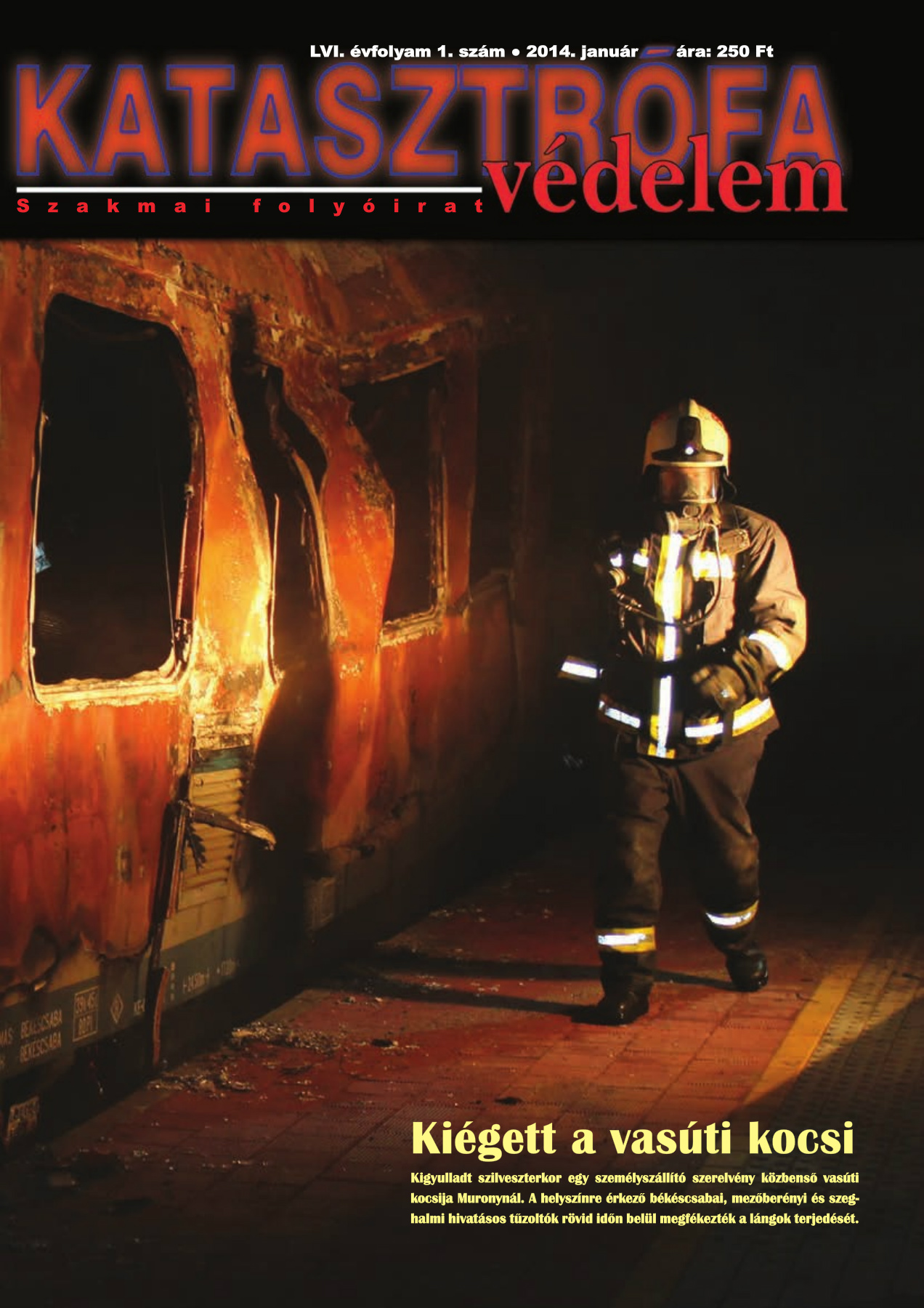 A Katasztrófavédelem magazin LVI. évfolyam 1. szám megtekintése