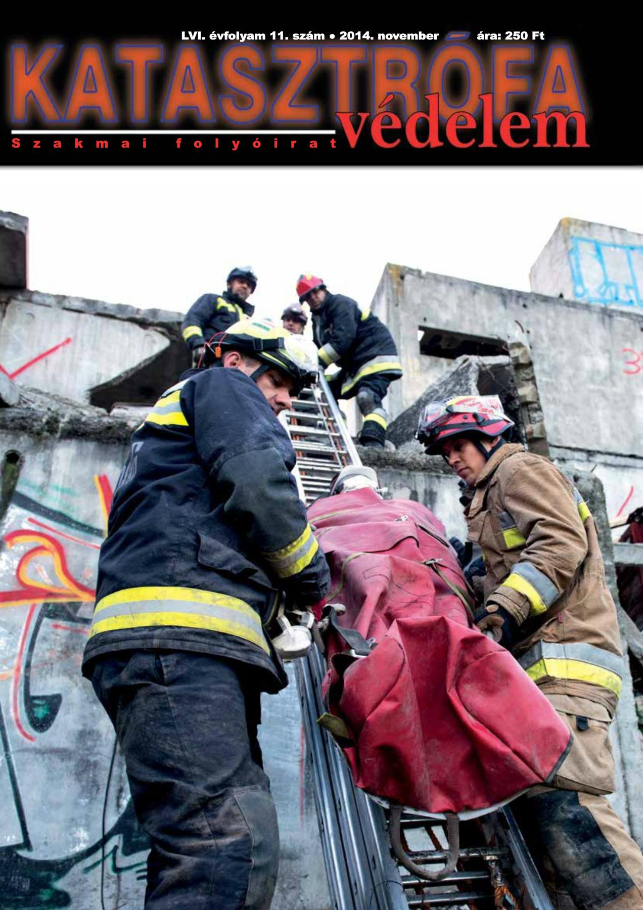A Katasztrófavédelem magazin LVI. évfolyam 11. szám megtekintése