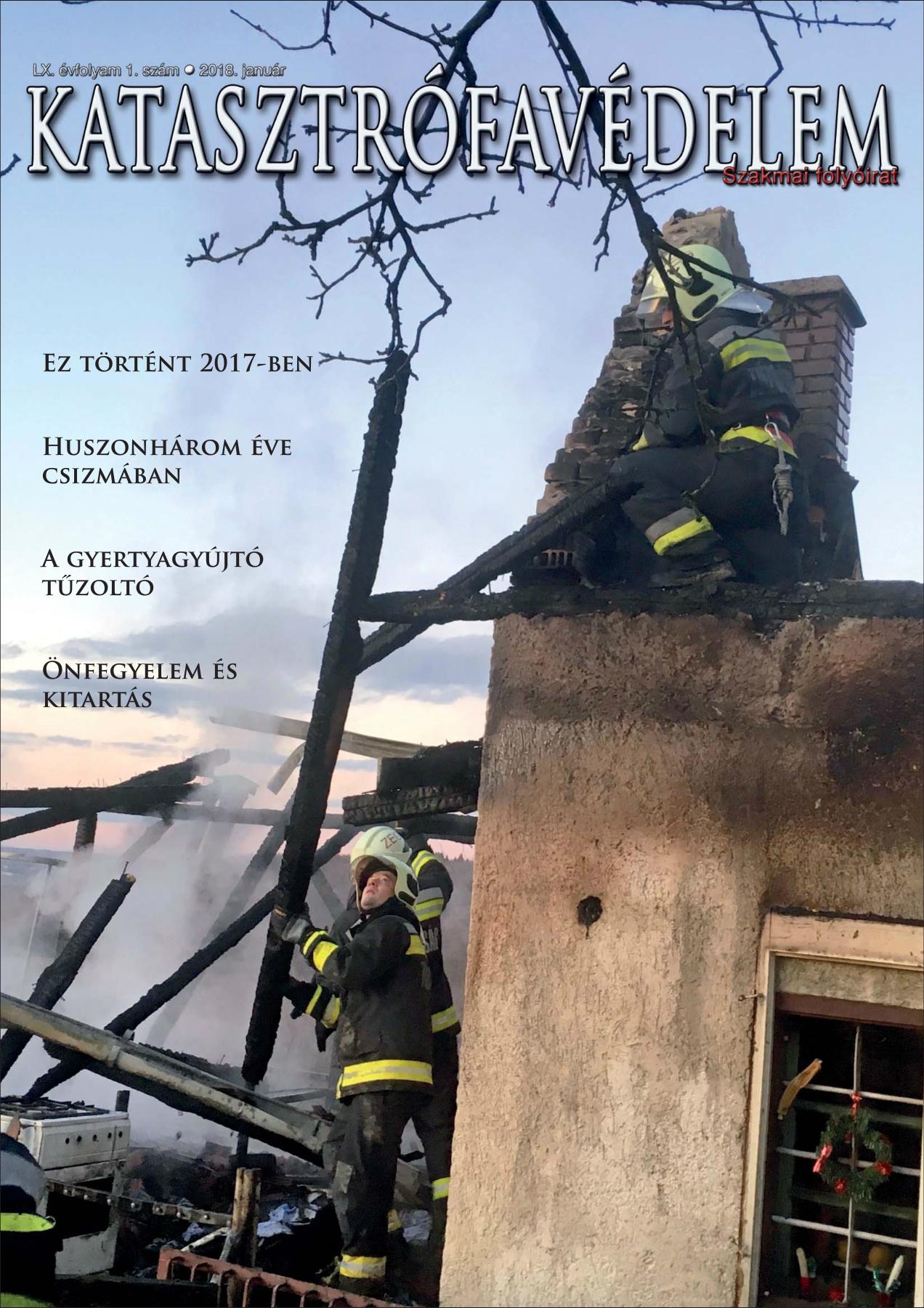 A Katasztrófavédelem magazin LX. évfolyam 1. szám megtekintése