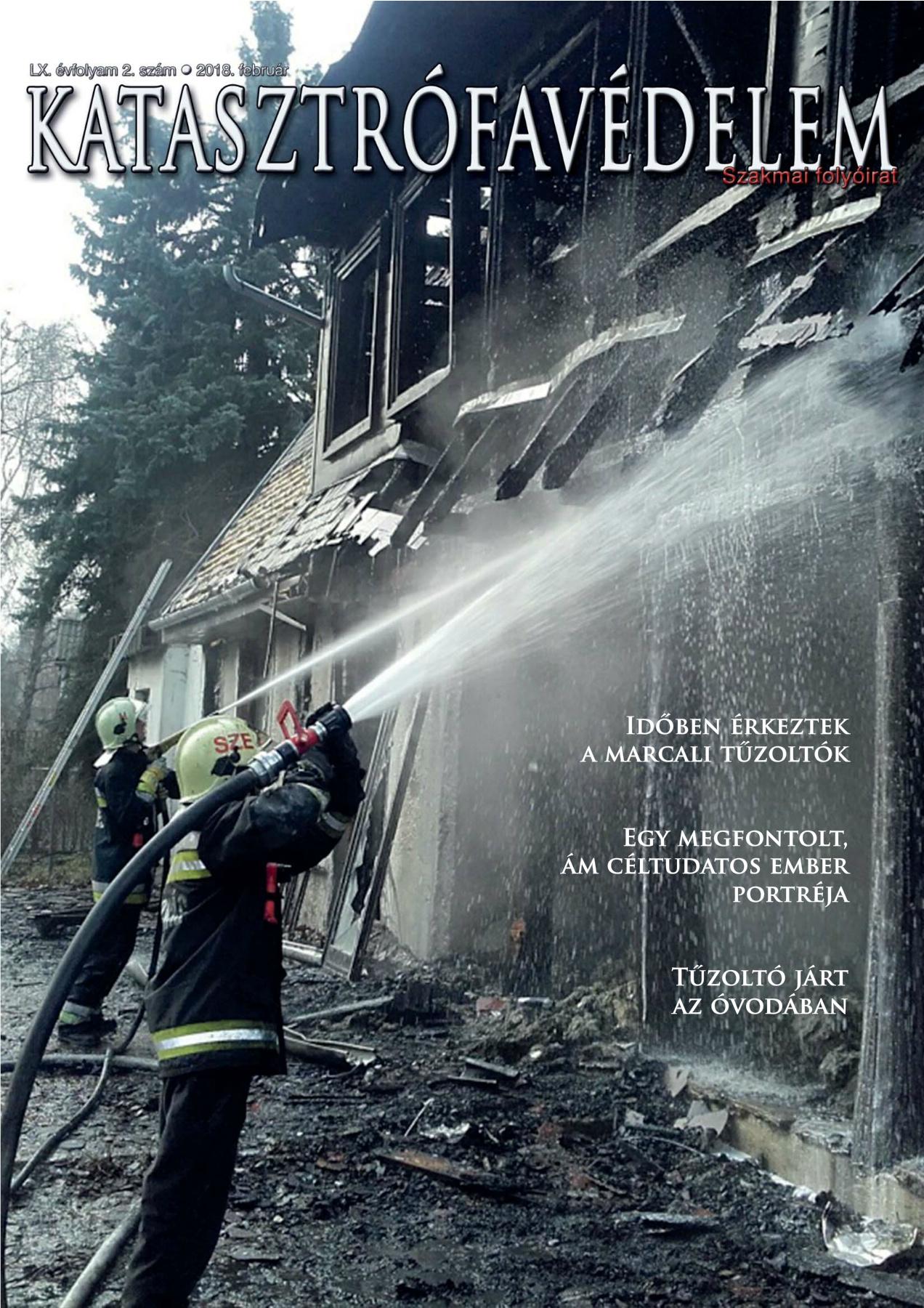 A Katasztrófavédelem magazin LX. évfolyam 2. szám megtekintése
