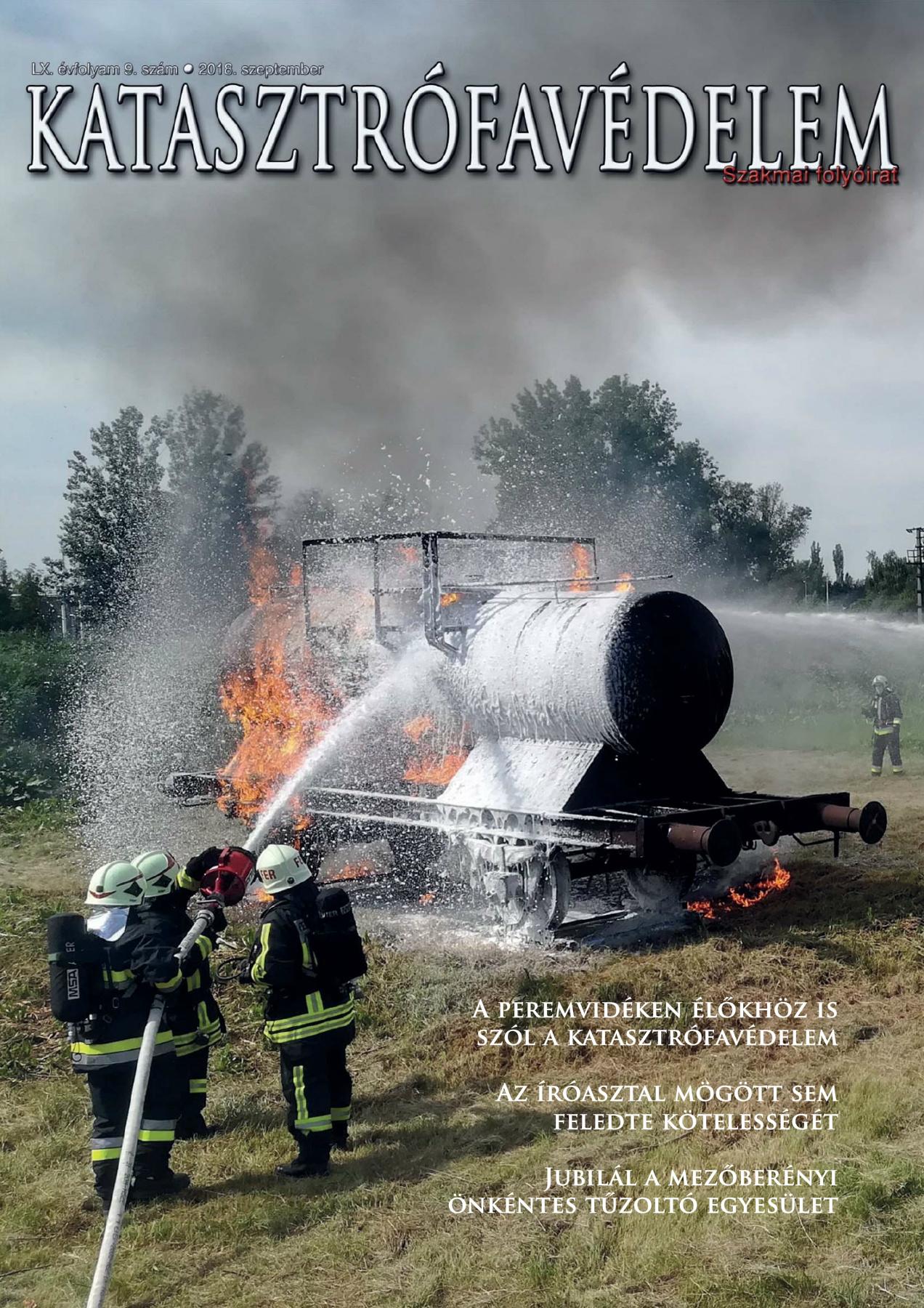 A Katasztrófavédelem magazin LX. évfolyam 9. szám megtekintése
