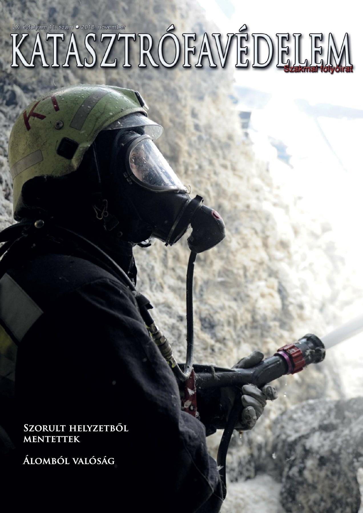 A Katasztrófavédelem magazin LX. évfolyam 11. szám megtekintése