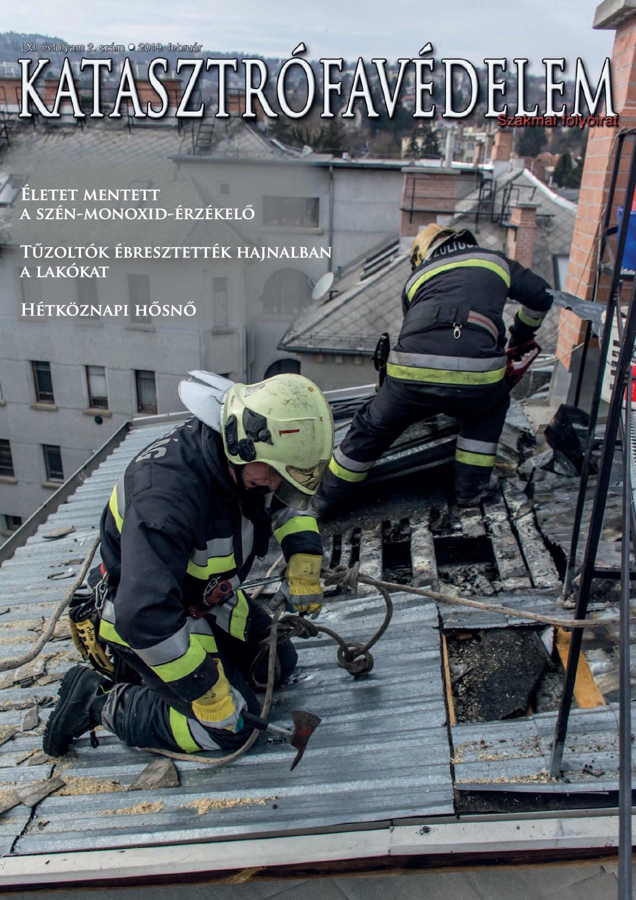 A Katasztrófavédelem magazin LXI. évfolyam 2. szám megtekintése