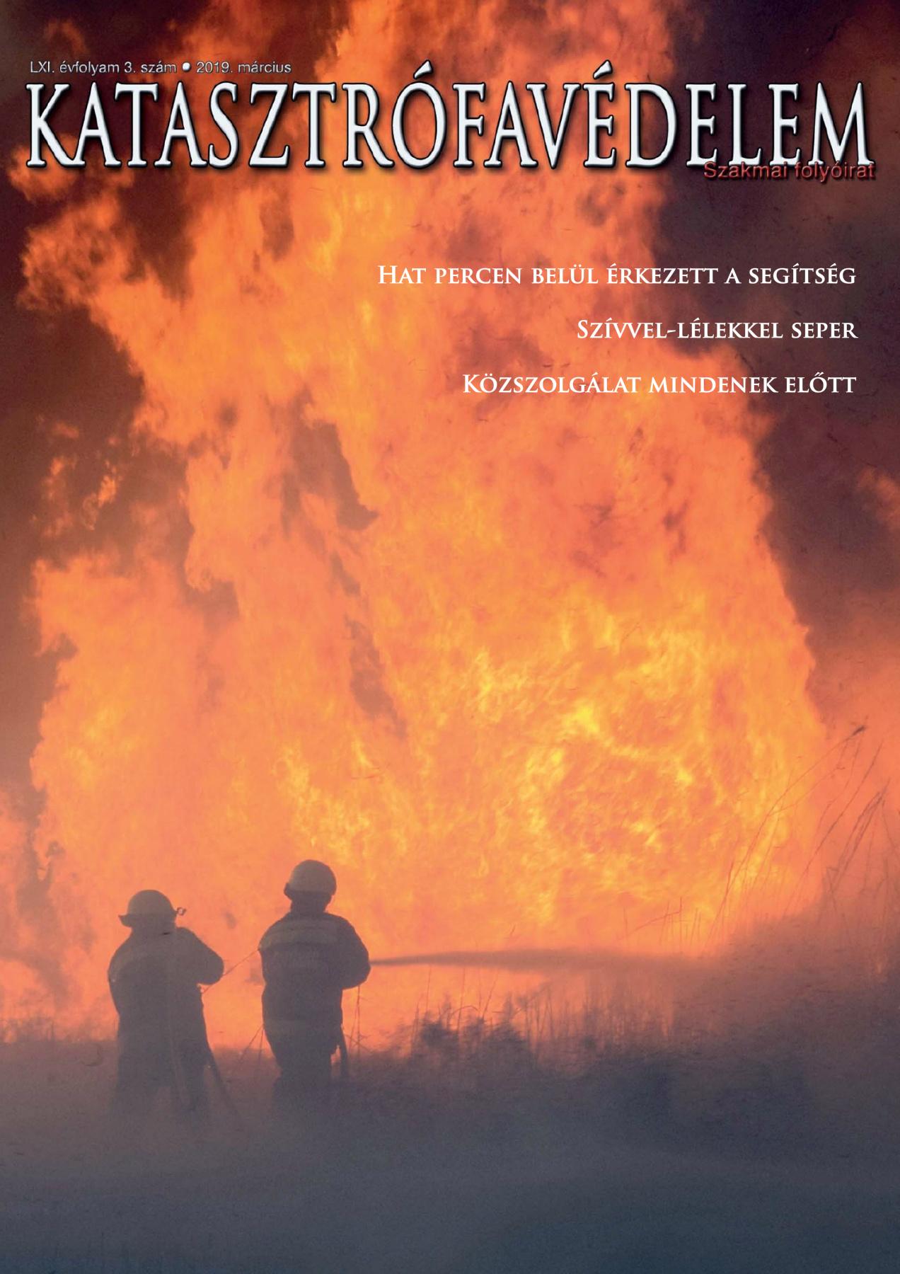 A Katasztrófavédelem magazin LXI. évfolyam 3. szám megtekintése