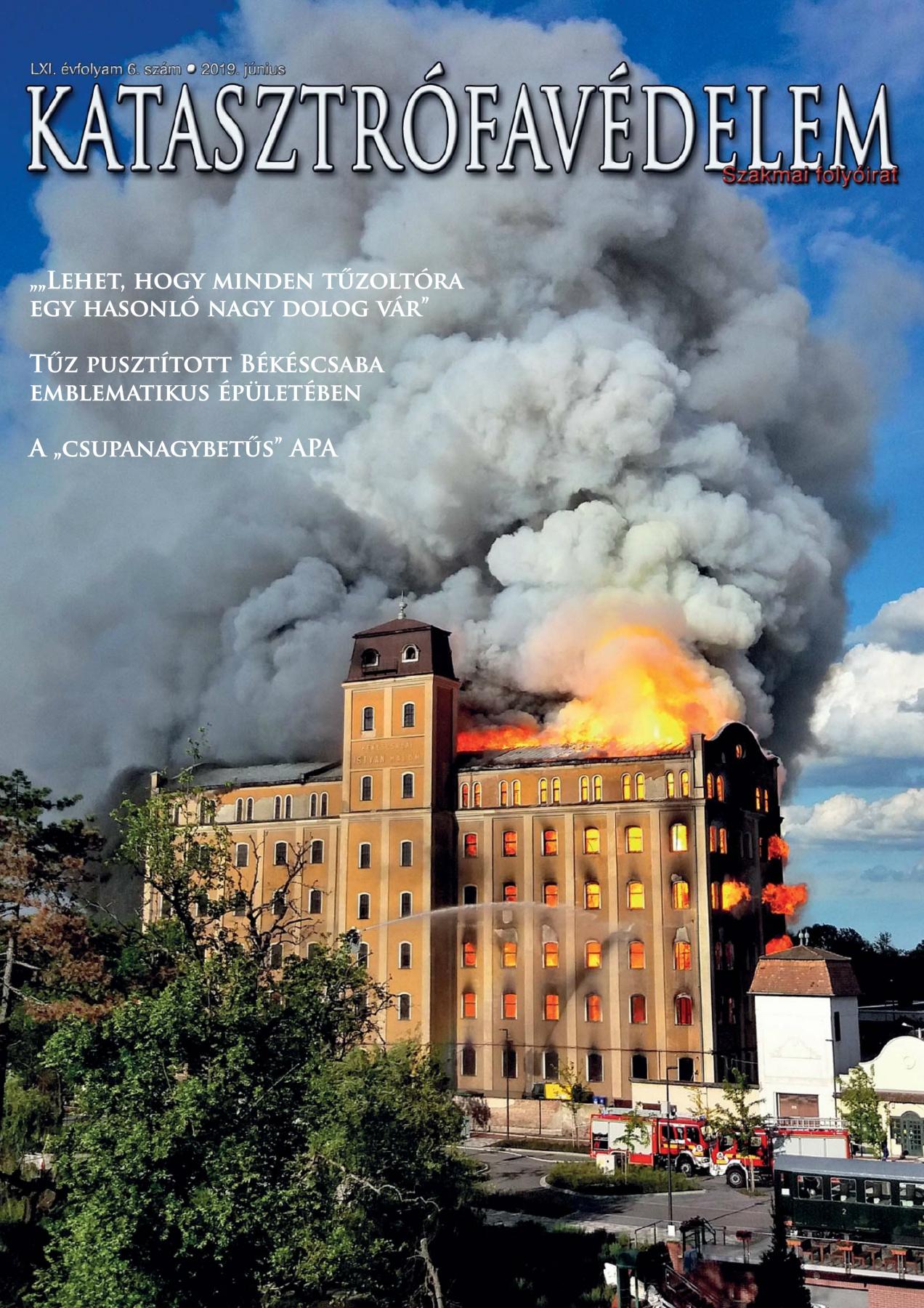 A Katasztrófavédelem magazin LXI. évfolyam 6. szám megtekintése