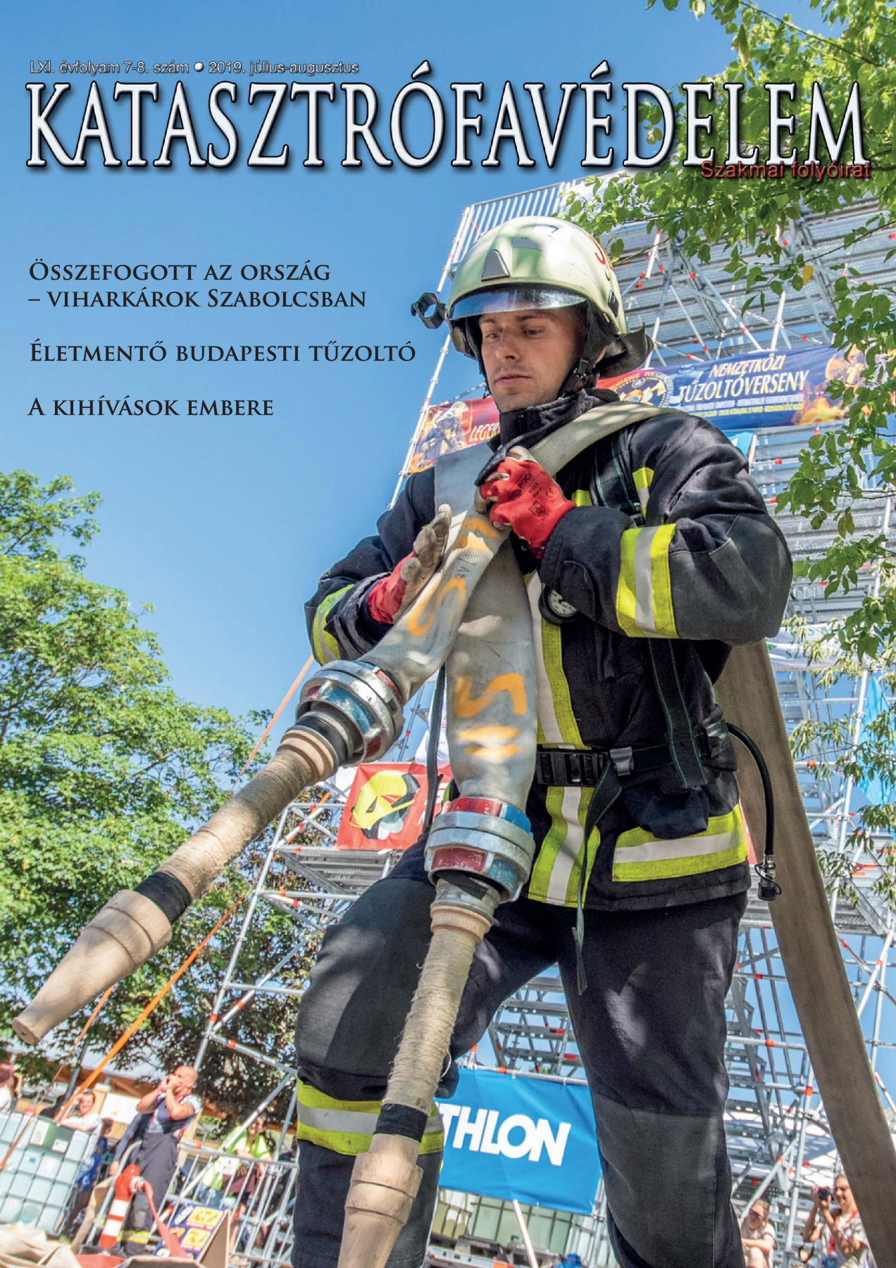 A Katasztrófavédelem magazin LXI. évfolyam 7-8. szám megtekintése