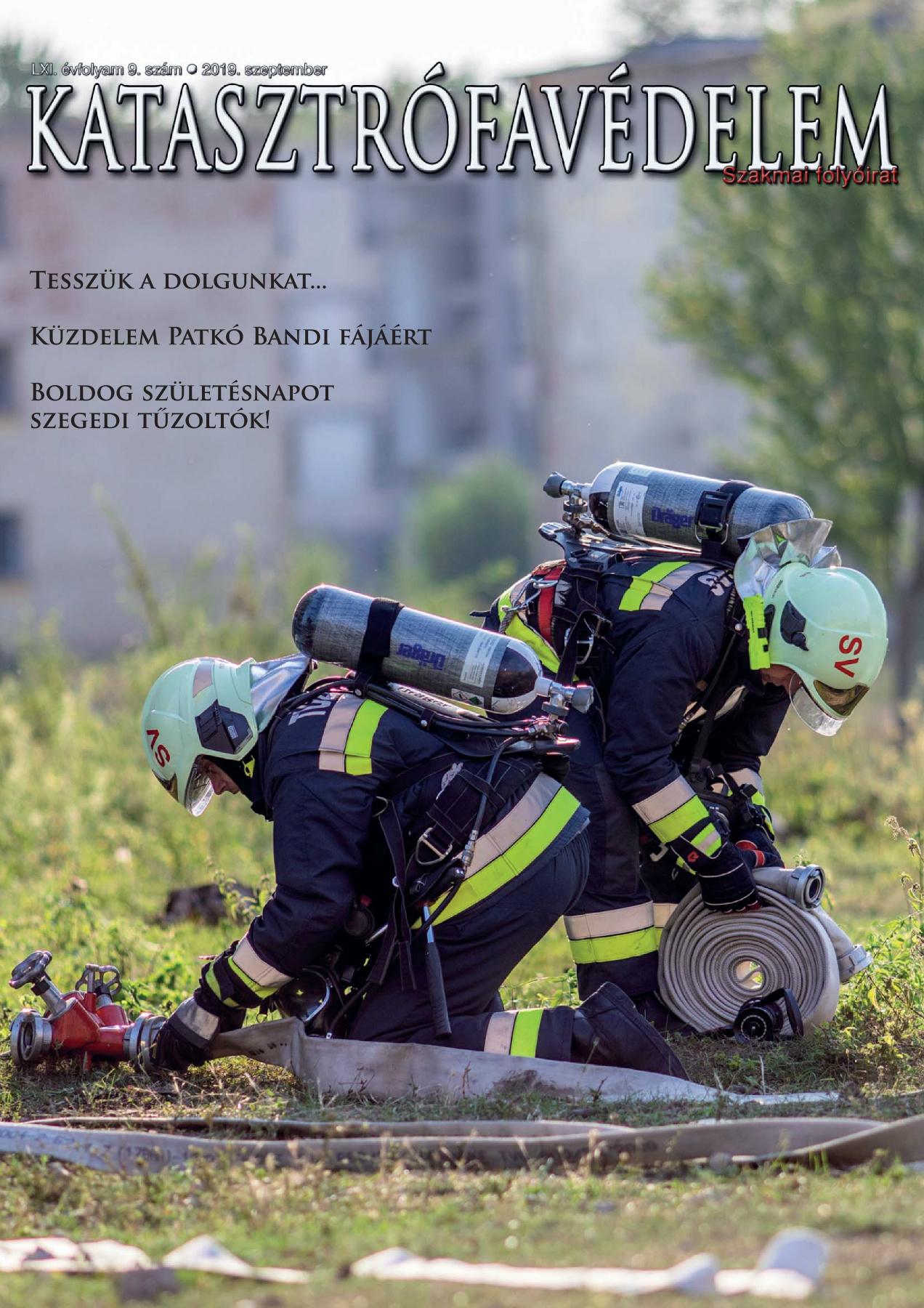 A Katasztrófavédelem magazin LXI. évfolyam 9. szám megtekintése