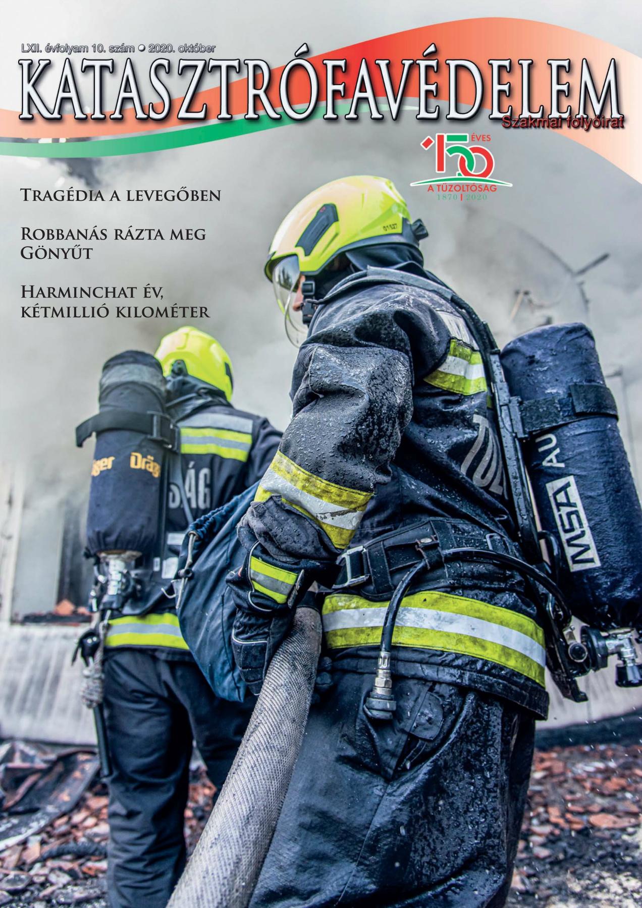 A Katasztrófavédelem magazin LXII. évfolyam 10. szám megtekintése
